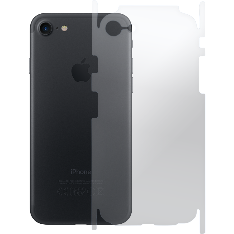 wholesale dealer 5c35f 776c1 CLEAR SKIN - BACK Protector for iPhone 7