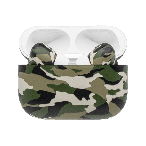 Apple AirPods Pro Army Camo Green Matte
