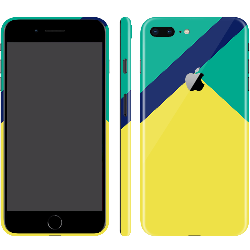 iPhone 8 Plus Color Block 10