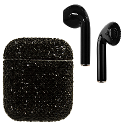 Crystal AirPods Black