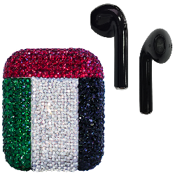 Crystal AirPods UAE Flag