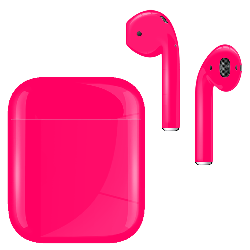 AirPods Neon Pink