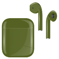 AirPods Pickle Green