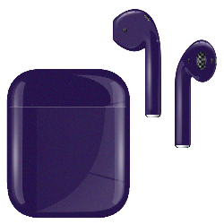 AirPods Metallic Joker Purple