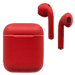 AirPods Ferrari Red Matte