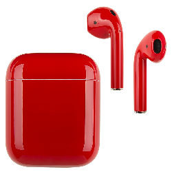 AirPods Ferrari Red