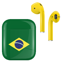 AirPods Brazil Flag