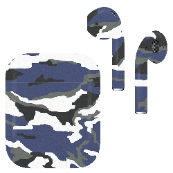 AirPods Army Camo Metallic Techno Matte
