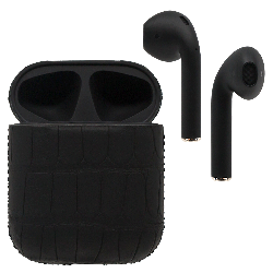 Black Label AirPods - Carbon Alligator