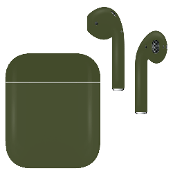 Apple Airpod v2 with Standard Charging Case Army Green Matte