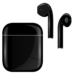 Apple Airpod v2 with Standard Charging Case Jet Black
