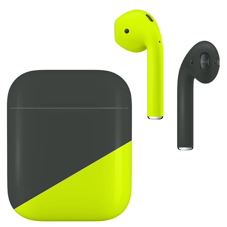 SPR-SP677734-Apple-Airpods-Gen2-S-Graphite-Gray-and-Neon-Yellow-Matte.png