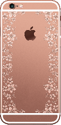 iPhone 6S Plus Rose Gold Spring Flowers