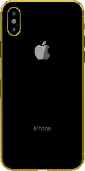 iPhone X Gold Plated 24K - Space Gray