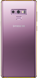 Note 9 Gold Plated 24K Accents - Lavender Purple