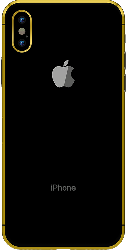 iPhone XS Gold Plated 24K - Space Gray