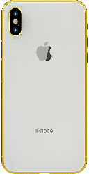 iPhone XS Gold Plated 24K - Silver