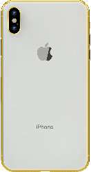iPhone XS Max Gold Plated 24K - Silver