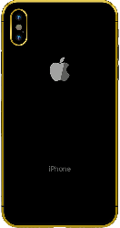 iPhone XS Max Gold Plated 24K - Space Gray