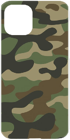 iPhone 11 Pro Hard Case Military Camouflage Green