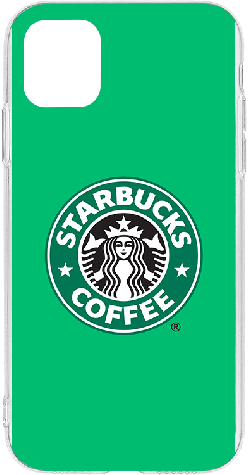 iPhone 11 Pro Max Clear Case Starbucks