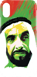 iPhone X Hard Case Trends - Highness Sheikh Zayed