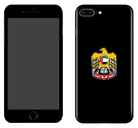 iPhone 8 Plus Skin Matte UAE Emblem
