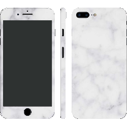 iPhone 7 Plus Textured White Marble (Printable)