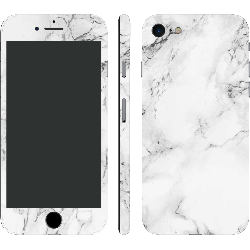 iPhone 7 Black Cracked Natural Marble (Printable)